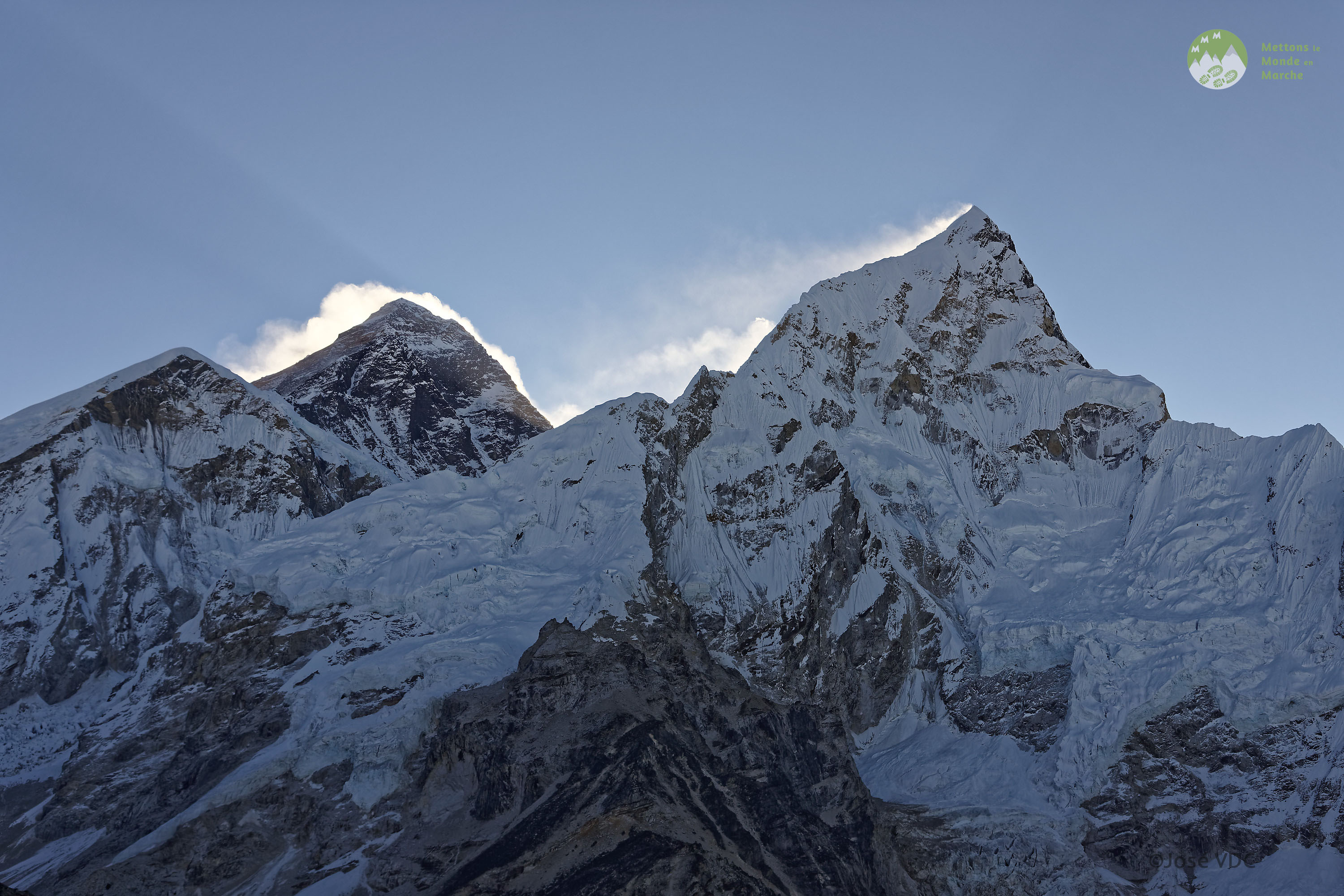 Panorama sur l'EVEREST (Népal)